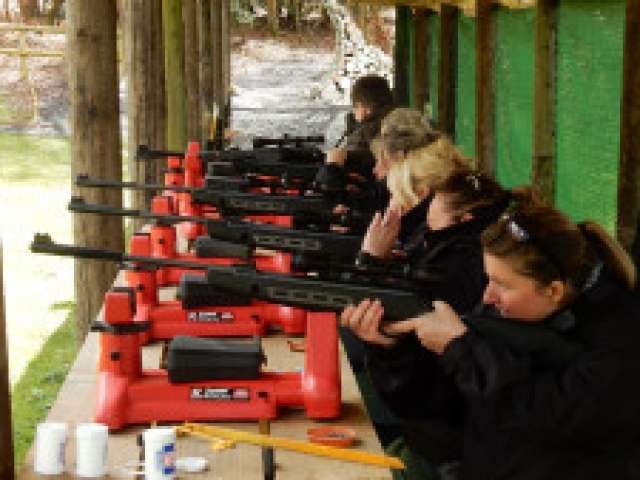 Activity & Adventure - Air Rifle Shooting