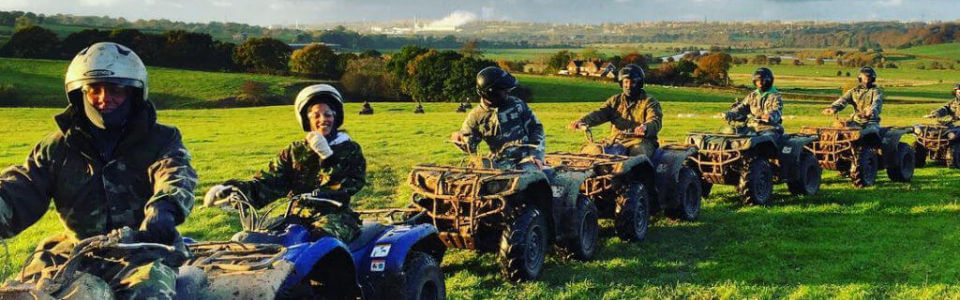 Cheshire Corporate Retreats Quad Biking