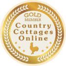 Country Cottages Gold Membership Badge